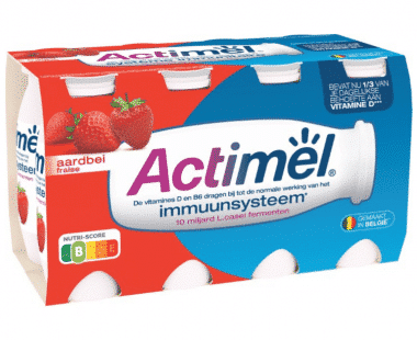 Actimel Drinkyoghurt Aardbei Hopr online supermarkt