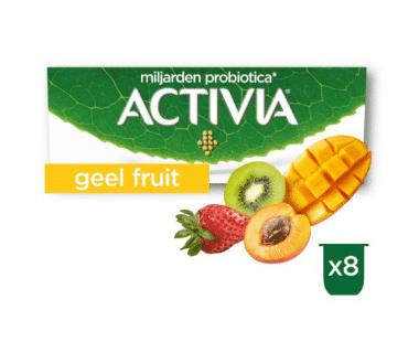 Activia Yoghurt Aardbei-Abrikoos-Kiwi-Mango Hopr online supermarkt