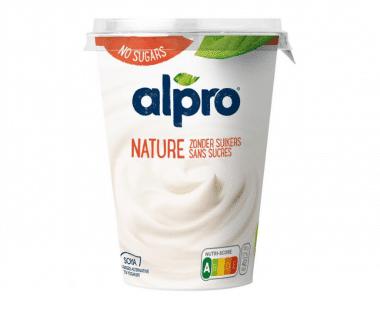 Alpro soya yoghurt Natuur ongezoet Hopr online supermarkt