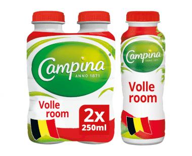 Campina volle room 2x250ml Hopr online supermarket