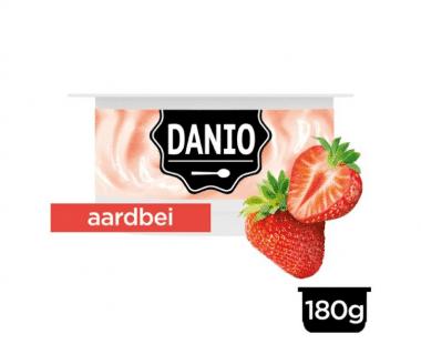 Danio Verse Kaas Specialiteit Aardbei Hopr online supermarkt