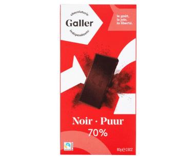 Galler Puur Chocolade 70% Hopr online supermarkt