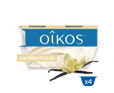 Oikos Yoghurt op Griekse Wijze Vanille Hopr online supermarkt