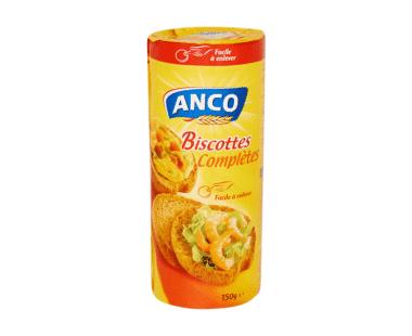 Anco Volkoren Ronde beschuit Hopr online supermarkt