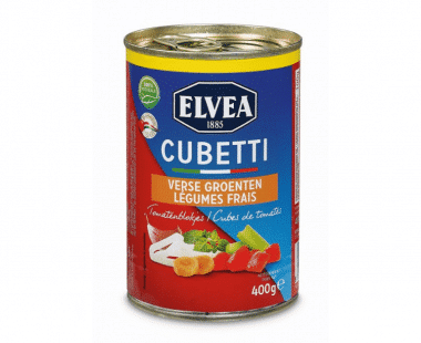 Elvea Cubetti met verse groenten Hopr online supermarkt
