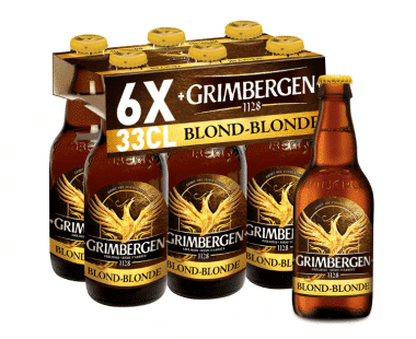 Grimbergen blond bier Hopr online supermarkt