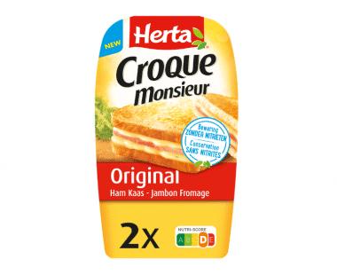 Herta Croque Monsieur Original Ham Kaas 2x Hopr online supermarkt