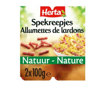HERTA Spekreepjes Natuur 2x Hopr online supermarkt