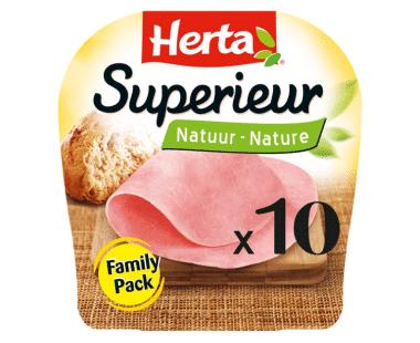 HERTA Ham SuperieurNatuur 10Sneden Hopr online supermarkt