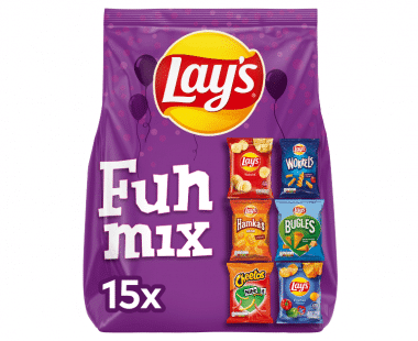 Lay's Funmix Chips 15 zakjes  Hopr online supermarkt
