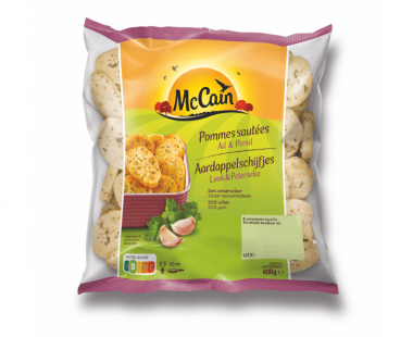 McCain Aardappelschijfjes Look Peterselie 400g Hopr online supermarkt