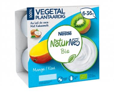 NaturNes Bio Mango / Kiwi 6-36M 4x90g Hopr online supermarkt
