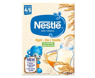 Nestlé Baby Cereals Rijst-Vanille 6 Maanden 250g Hopr online supermarkt