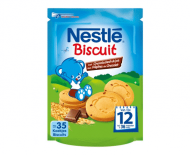 Nestlé Biscuit Chocoladestukjes Baby 12 Maanden 150g Hopr online supermarkt