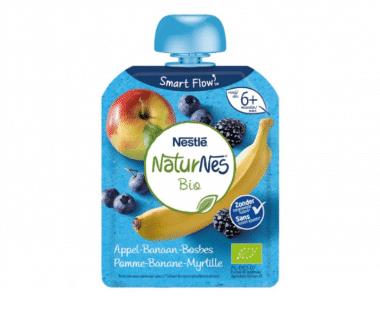 Nestlé NaturNes Bio Appel-Banaan-Bosbes vanaf 6 Maanden 90g Hopr online supermarkt