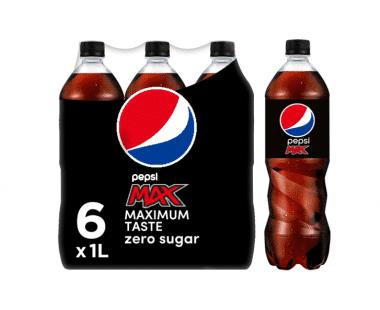 Pepsi Cola Max 6x1L Hopr online supermarkt