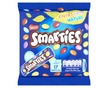 SMARTIES Chocolade Bonbons 5x Hopr online supermarkt