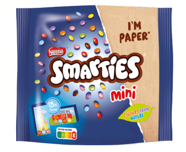 SMARTIES Chocolade Bonbons Mini 15 Stuks Hopr online supermarkt