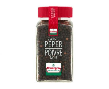 Verstegen Glazen pot peper zwart heel Hopr online supermarkt