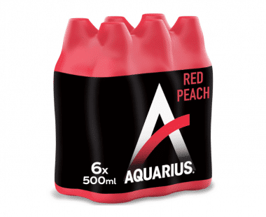 AQUARIUS RED PERZIK 6x0
