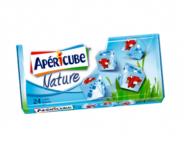 Apéricube kaasjes Natuur 24 blokjes 125g Hopr online supermarkt