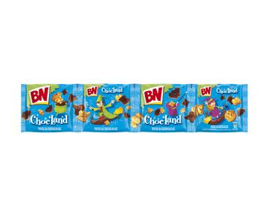 BN Chocland chocoladekoekjes 4 zakjes Hopr online supermarkt