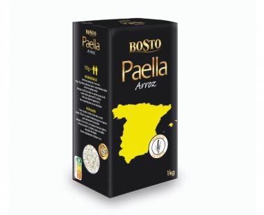 Bosto Premium Paella rijst Arroz 1kg Hopr online supermarkt