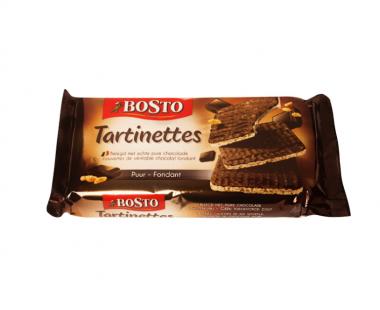 Bosto Tartinettes Choco Puur 90g Hopr online supermarkt