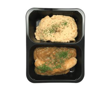 Braadworst met wortelpuree 550g Hopr online supermarkt