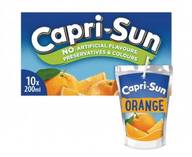 CAPRI-SUN ORANGE 10x0