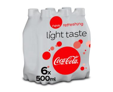 COCA-COLA LIGHT 6x0