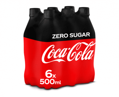 COCA-COLA ZERO 6x0