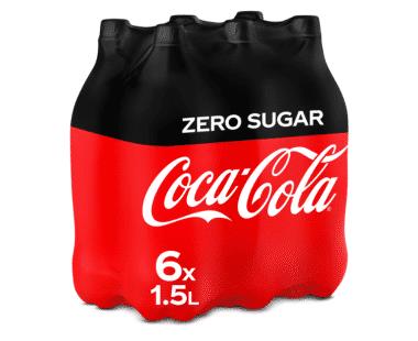 COCA-COLA ZERO SUGAR 6x1