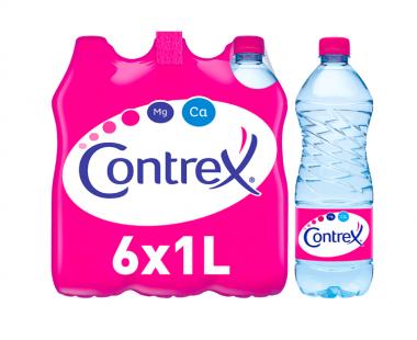 CONTREX Plat Natuurlijk Mineraalwater 6x1L Hopr online supermarkt