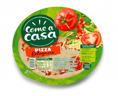 Come a casa Pizza Bolognese 350g Hopr online supermarkt