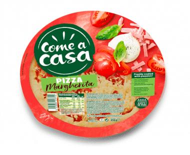 Come a casa Pizza Margherita 350g Hopr online supermarkt