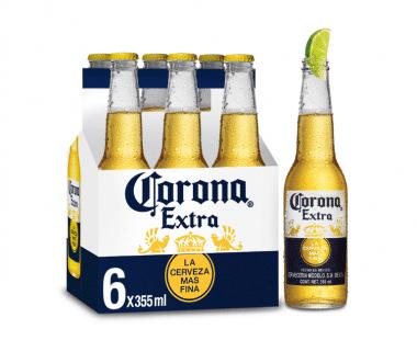 Corona fles 6x35