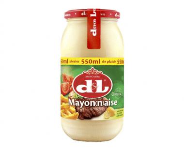 D&L Mayonaise met citroen 550ml Hopr online supermarkt