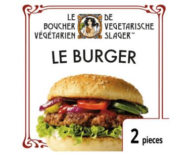De Vegetarische Slager Vegetarische burger Le Burger 160g Hopr online supermarkt