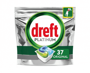 Dreft Platinum All-in one Regular vaatwascapsules 37 stuks Hopr online supermarkt