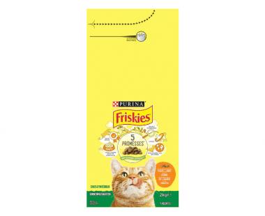 FRISKIES voor binnenhuiskattenmet kip en met groenten 2kg Hopr online supermarkt