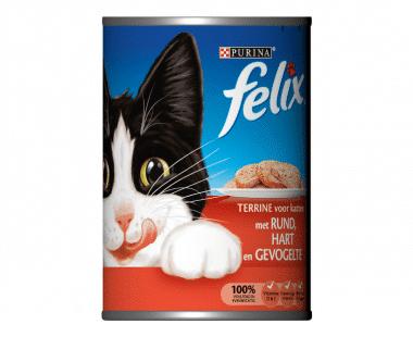 Felix Kat Terrine 3 vleessoorten Hopr online supermarkt