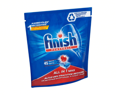 Finish All-in 1 Regular vaatwastabletten 45 stuksv