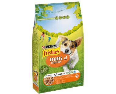 Friskies Mini Menu Hond kip en groenten 1