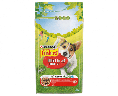 Friskies Mini Menu Hond rund en granen 1