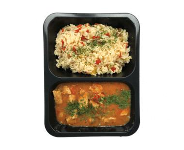 Goulash met rijst 550g Hopr online supermarkt