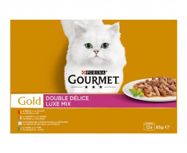 Gourmet Gold Kat Luxe Mix 12x85g Hopr online supermarkt
