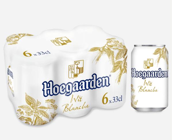 Hoegaarden wit blik 6x33cl Hopr online supermarkt