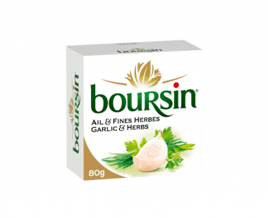 Boursin Verse Kaas Knoflook & fijne kruiden 80g Hopr online supermarkt