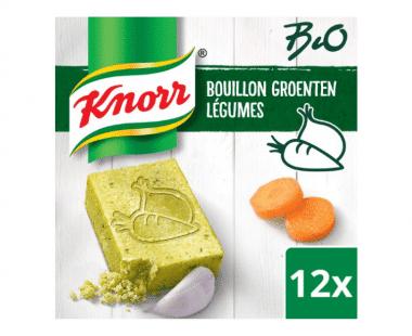 Knorr Bio Bouillon Groenten 12x28g Hopr online supermarkt